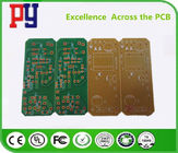 OSP Processing Single Sided Copper Pcb , One Sided Pcb 22F Fiberglass Board
