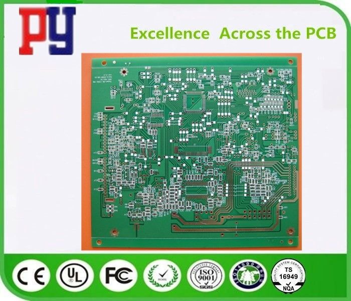 Double Side FR4 PCB Board 4 Mil Hole Size With Lead Free Surface Finishing