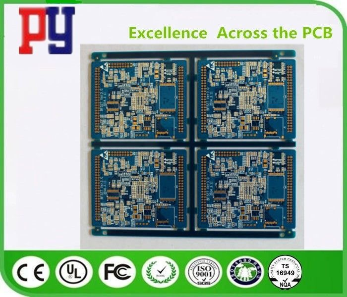 Electronic Printed Multilayer PCB Circuit Board FR4 Base Material 1.6MM Thickness