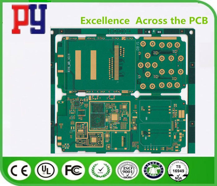 1.6MM Thickness Multilayer Pcb Fabrication , Printed Circuit Board Fabrication