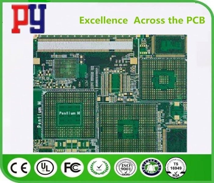 FR-4 Material PCB Printed Circuit Board 0.25mm-0.60mm Plugging Vias Capability