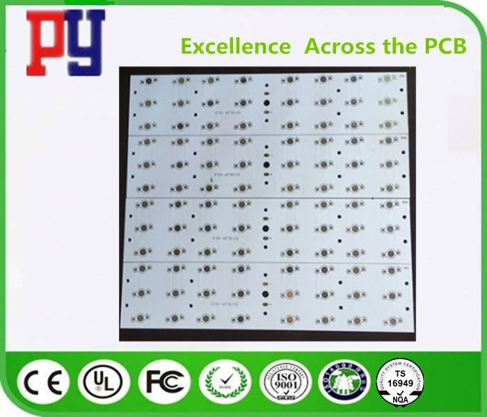 Solid Structure Rigid Flex LED PCB Board , Led Circuit Board Ssembly 1.2MM Thickness