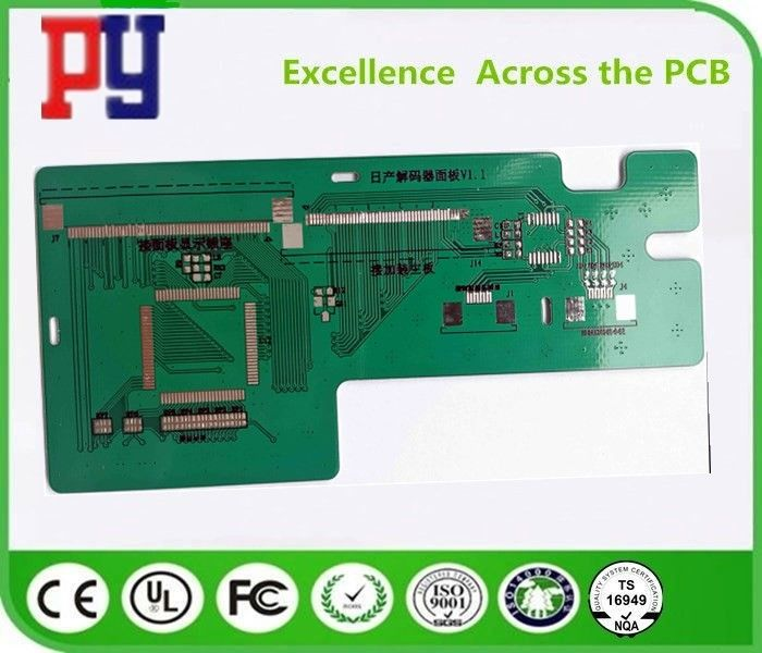 1.6MM Thickness Double Sided PCB Board Fr4 4 Layer High Precision Prototype